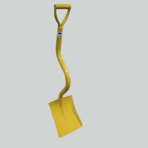 This is an image of an Ergonomic Shovel BN01. This is the original shovel designed for shifting, loading and spreading light to heavy material.