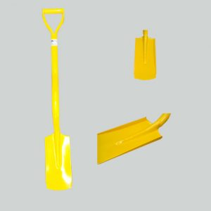 Image of a BN17S short handled ergonomic sided shovel useful for trenching.