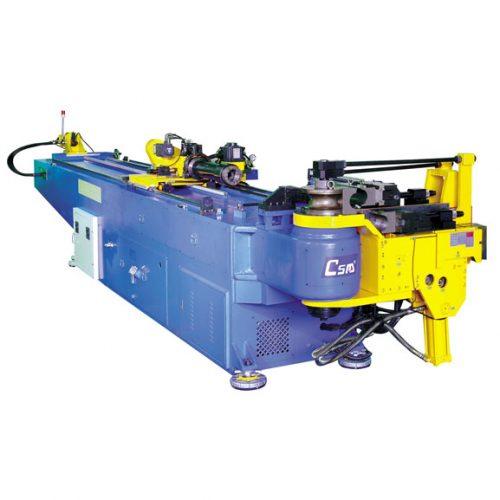 Photograph of a CNC mandrel bending machine