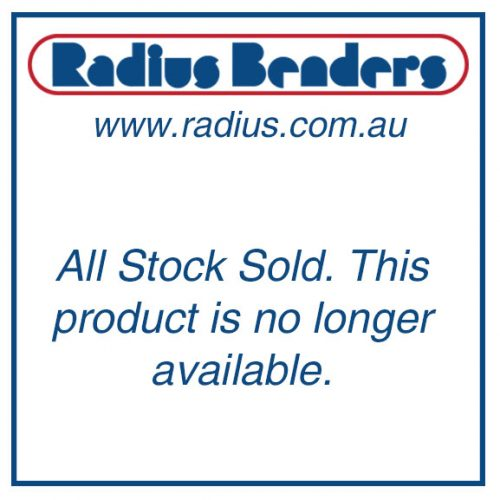 Radius Benders. All stock sold. This product is no longer available.