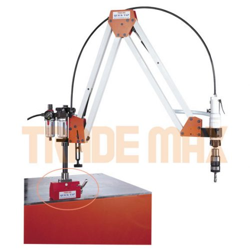 Pneumatic Tapping Machine Portable Magnetic Base