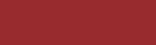Representation of the powder coat colour called Flame Red (mid red)
