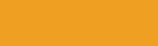 Representation of the powder coat colour called Safety Yellow (orangy yellow)